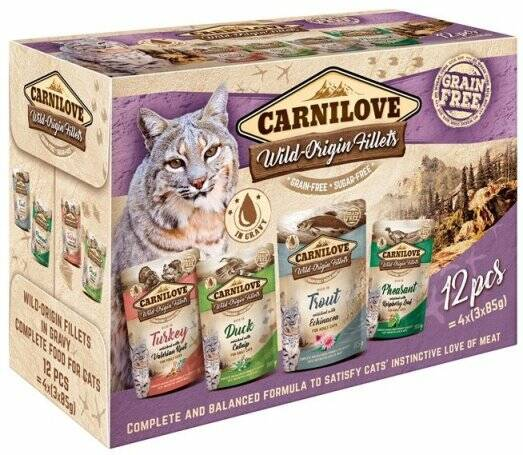 Carnilove Pouch Multipack 12x85 gr