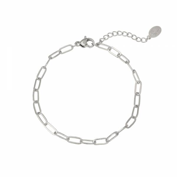 Chained up bracelet - SILVER