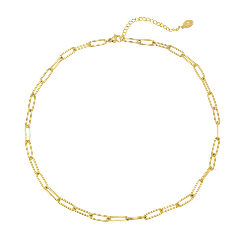 Chained up necklace - GOLD