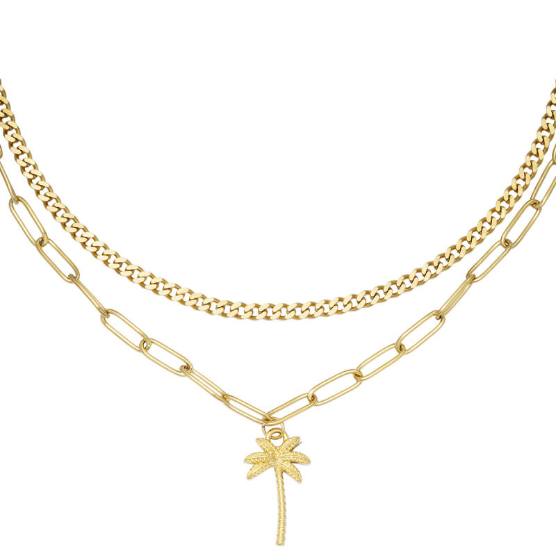 PALM Necklace - Gold