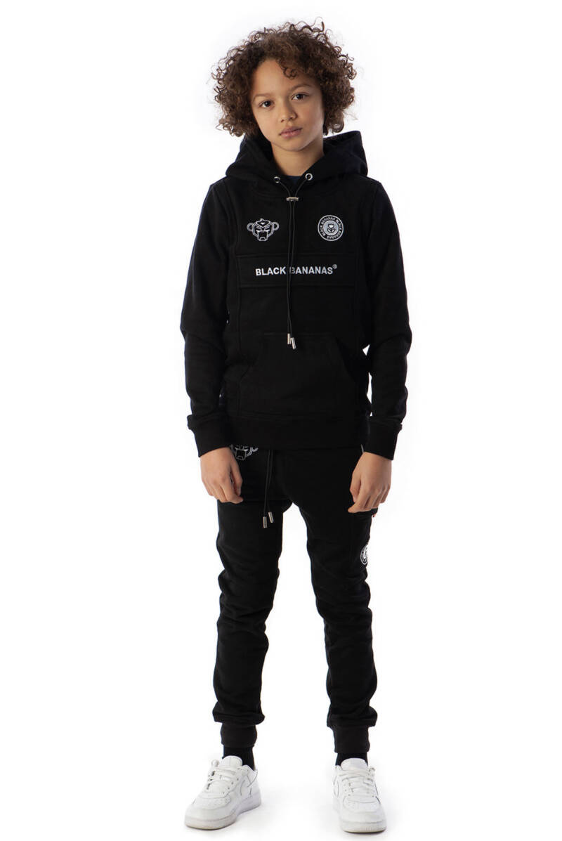 Black  Bananas JR - Anorak Kangaroo Hoody - Black