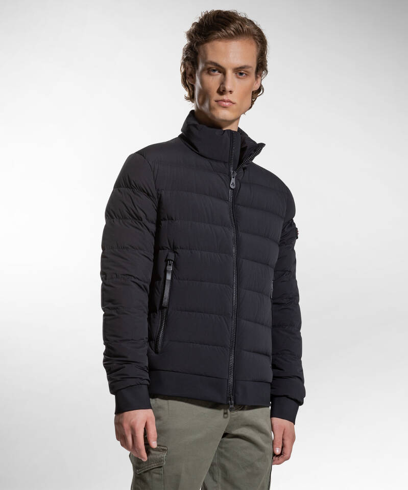 Peuterey - Nylon Jersey Down Jacket - Black