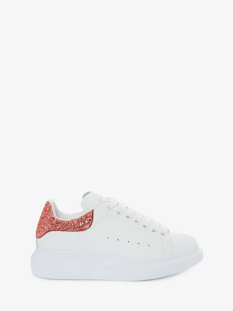 Alexander Mcqueen - Larry XL Outsole - White/ Glitter Rose