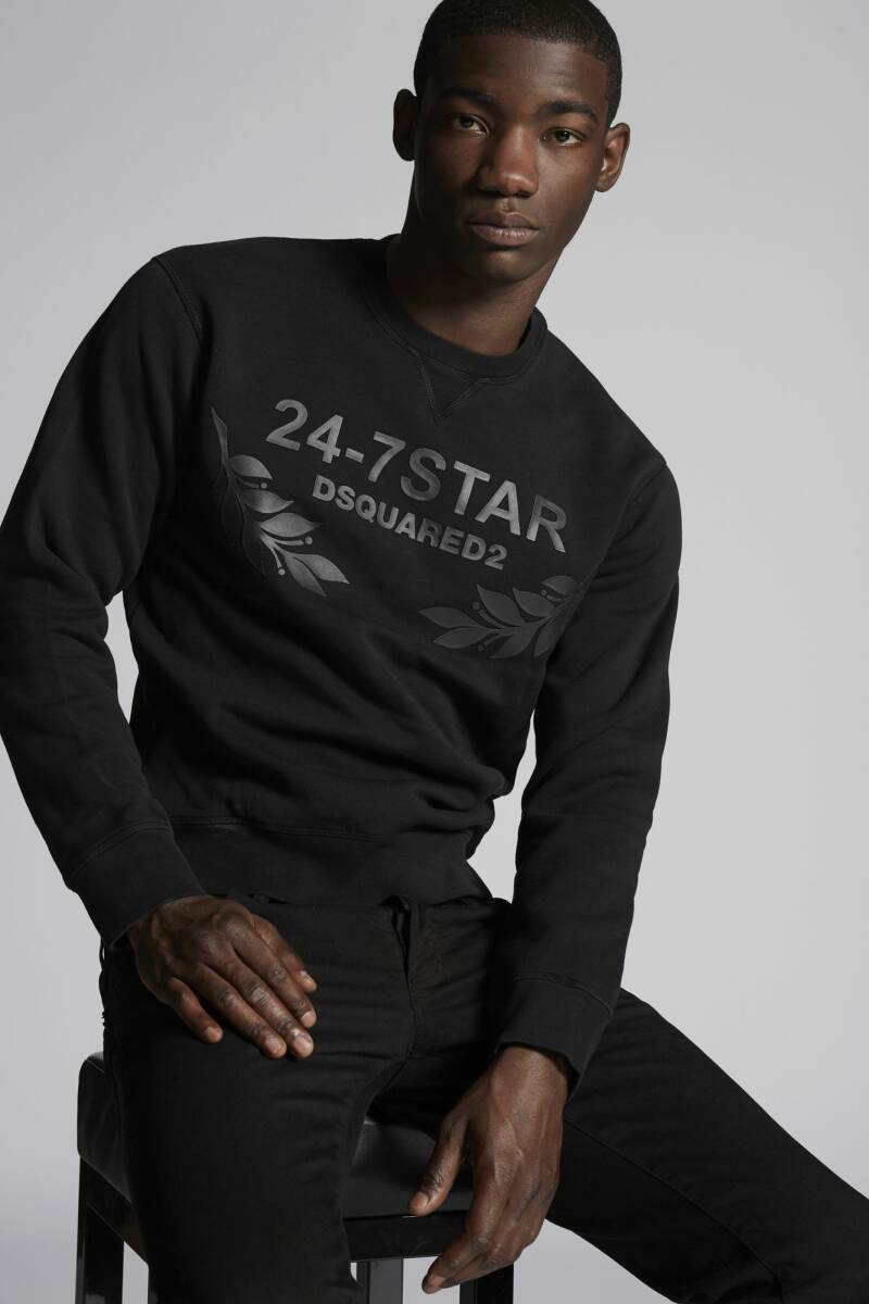 Dsquared2 - Sweater 24 / 7 Star - Black