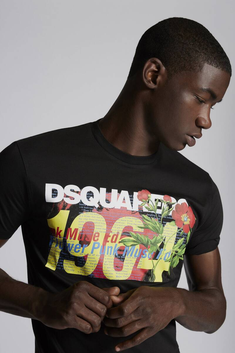Dsquared2 - Tshirt - Black