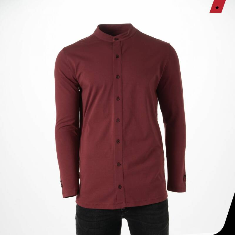 AB Lifestyle - Button Up - Red