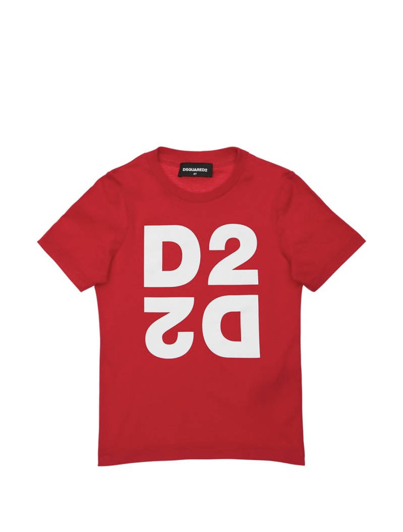 Dsquared2 - T-shirt D2 - Red