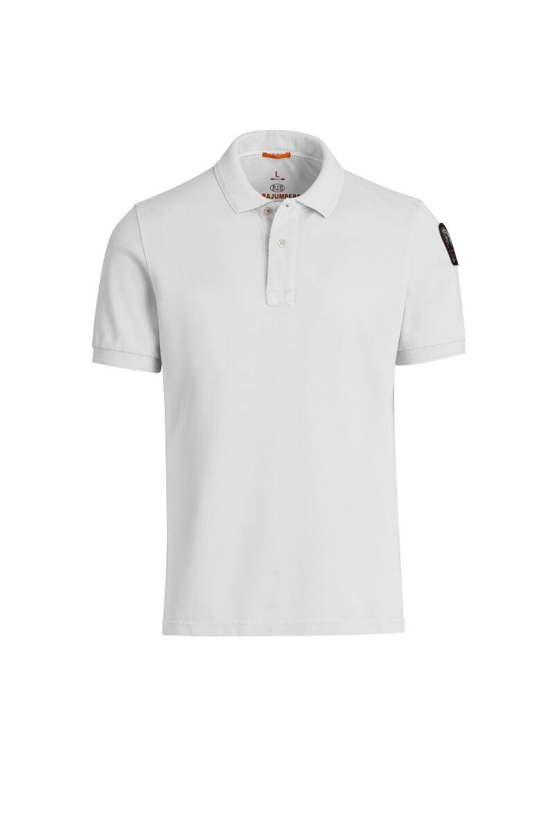 Parajumpers - Basic Polo - White