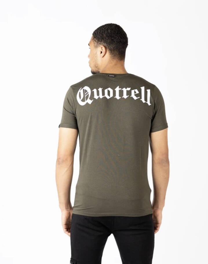Quotrell - Wing Tee  - Army