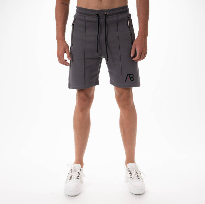 AB Lifestyle - Embroidery Short - Grey