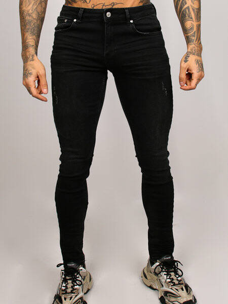 2LEGARE - Noah 102 Stretch Jeans - Black