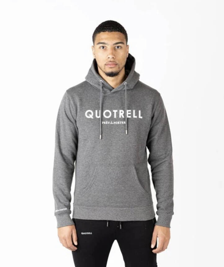 Quotrell - Basic Hoodie - Grey