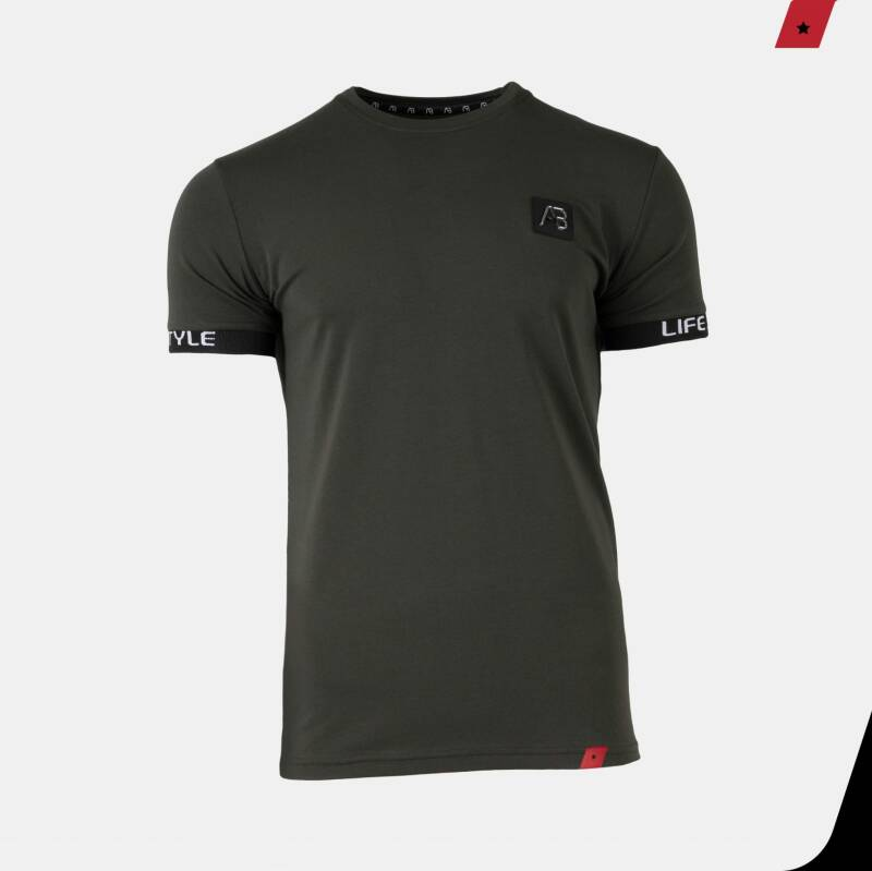 AB Lifestyle - Luigi Tee - Army Green