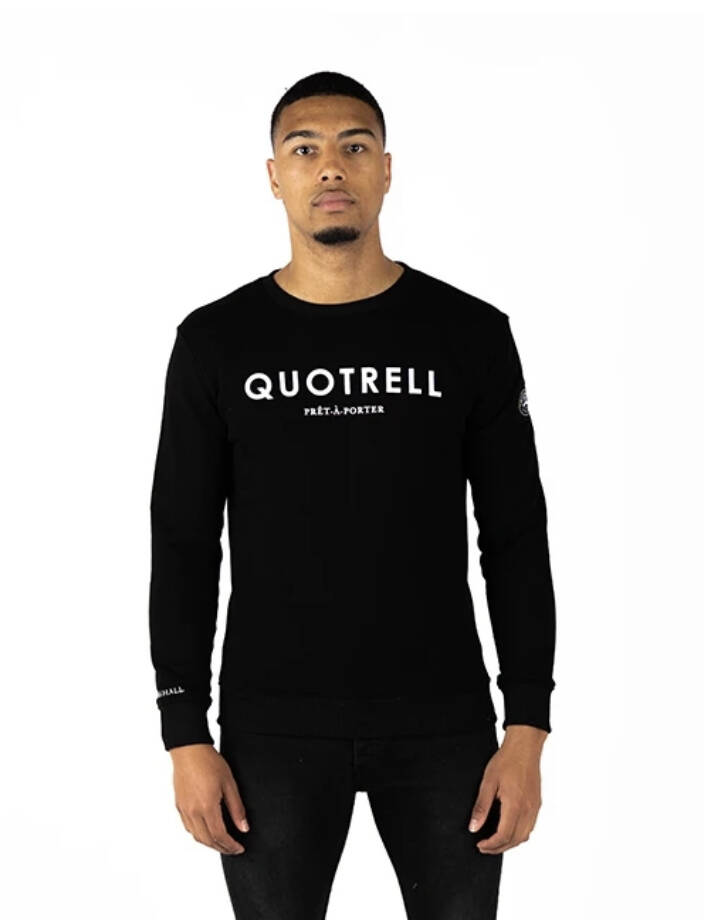 Quotrell - Sweater - Black