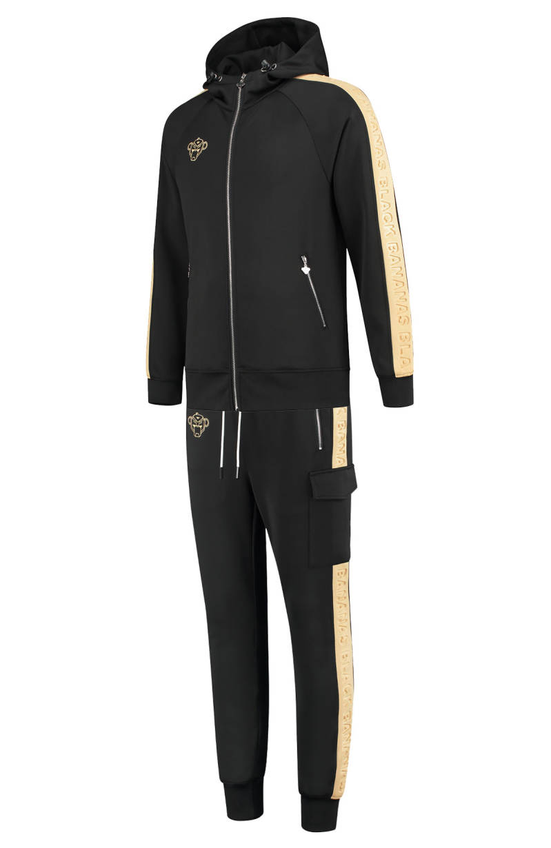 Black Bananas - Embossed Tracksuit - Black