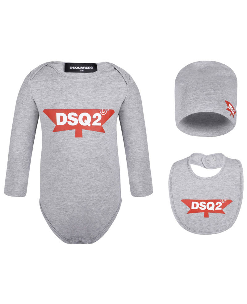 Dsquared2 - 3 PACK - Grey/ Red