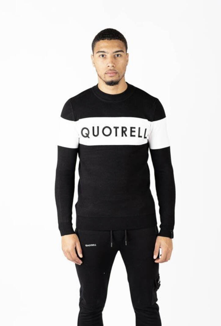 Quotrell - Manchester Sweater - Black