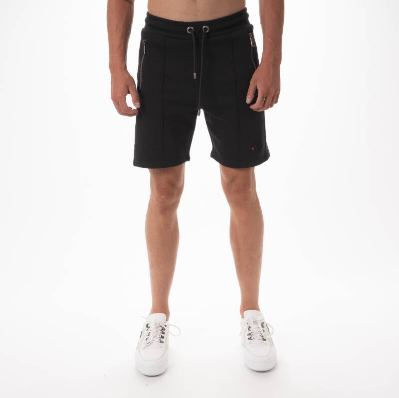 AB Lifestyle - Embroidery Short - Black