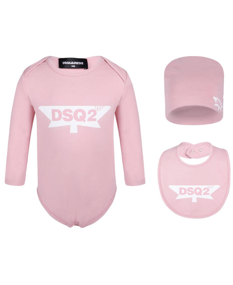 Dsquared2 - 3 PACK - Pink/ White