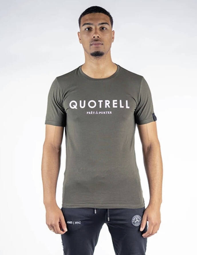 Quotrell - Basic Tee - Army