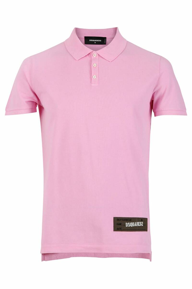 Dsquared2 - Polo - Roze