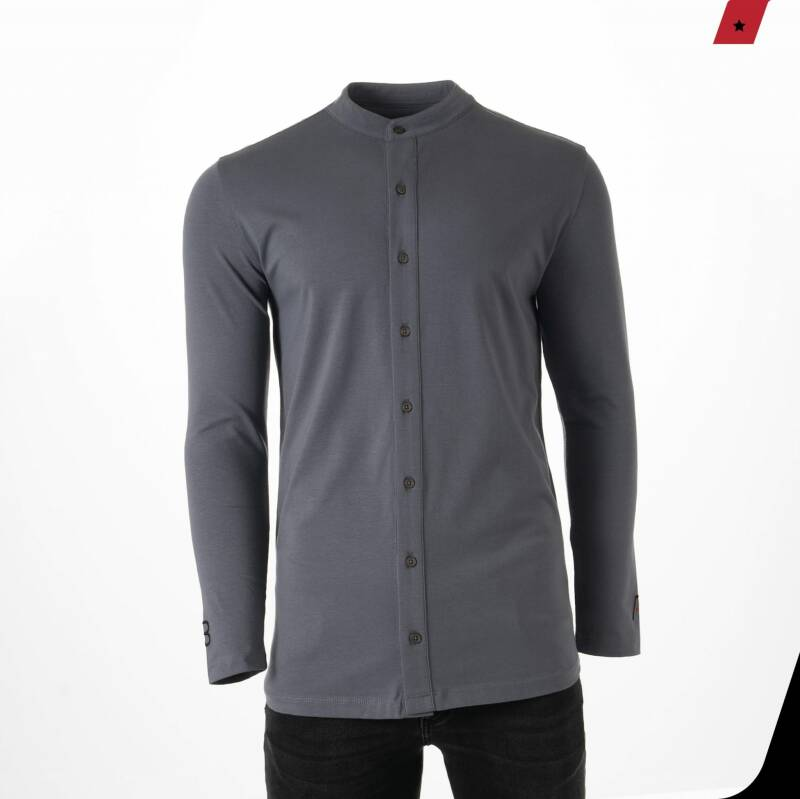 AB Lifestyle - Button Up - Grey