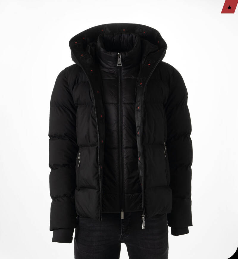 AB Lifestyle - Hooded Jacket - Black