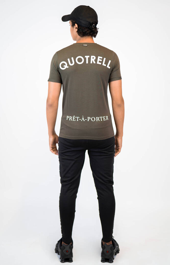 Quotrell - Wing Tee - Green/White