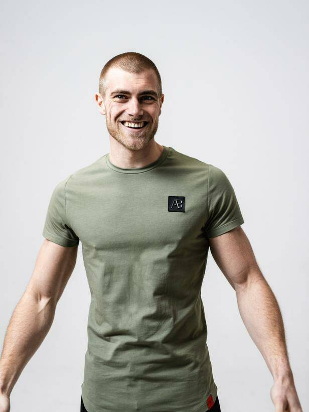 AB Lifestyle - Basic Tee - Dark Loden