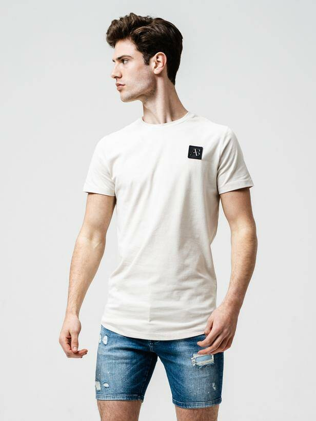 AB Lifestyle - Basic Tee - Moonbeam