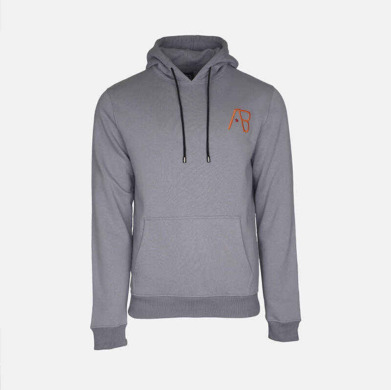 AB Hoodie - The Paint - Light Grey