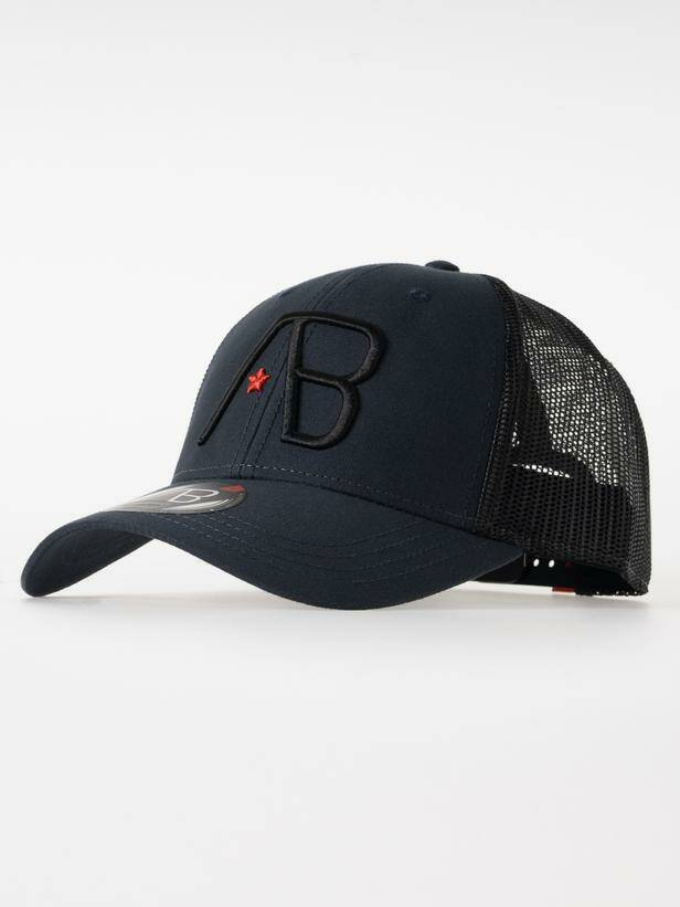 AB Lifestyle - Retro Trucker Cap - Black/Navy