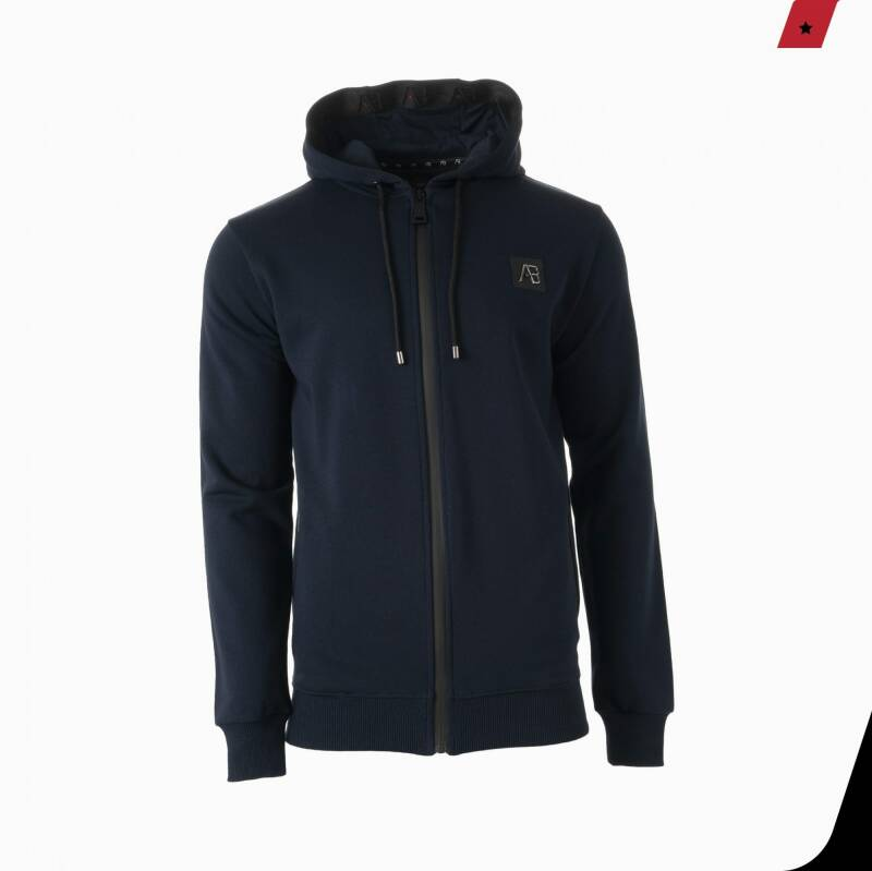 AB Lifestle - Hooded Track Jacket - Navy