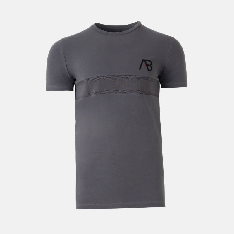 AB Lifestyle - Embroidery Tee - Grey