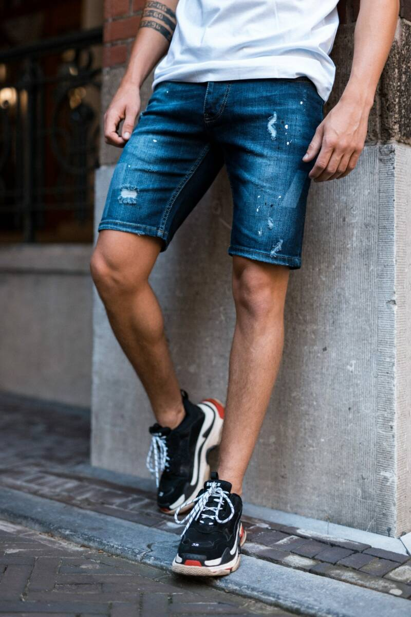 Richesse - Short Jeans Olso - Blue