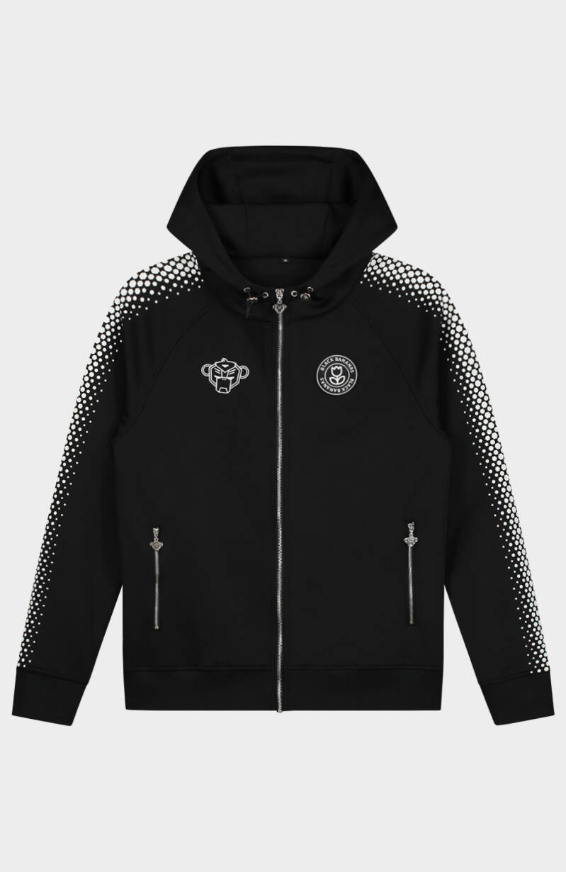 Black Bananas - Hexagon Tracktop - Black/White