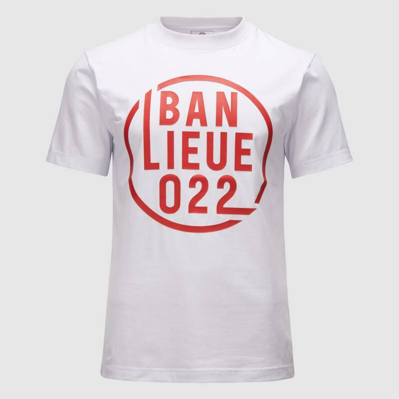 Banlieue - Off Shadow - White/ Red