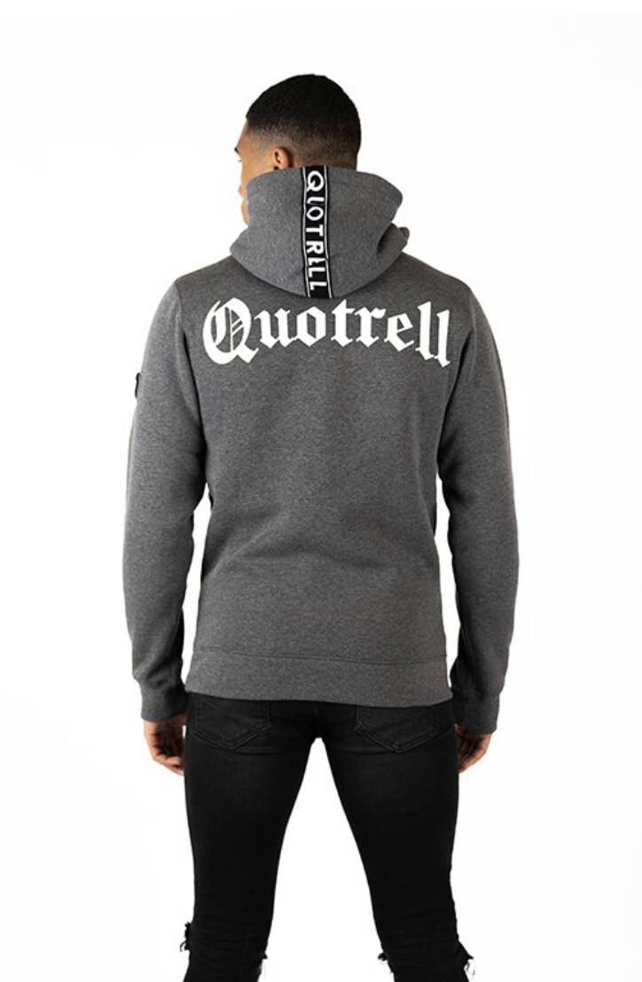 Quotrell - Commodore Hoodie - Grey