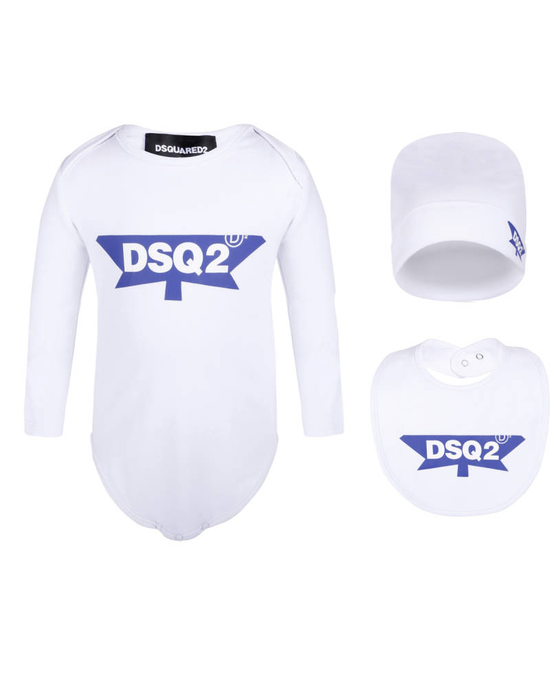 Dsquared2 - 3 PACK - White/Blue