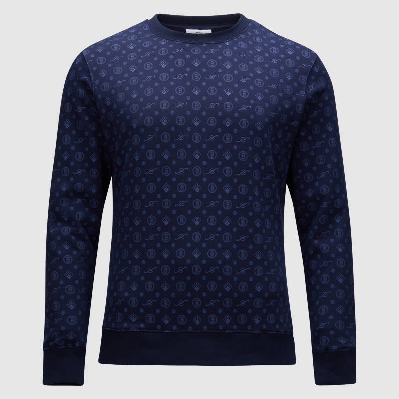 Banlieue - All Over Pattern - Navy