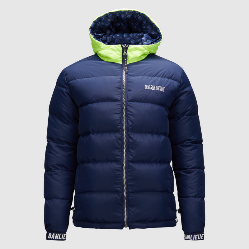 Banlieue - Down Jacket Reversible - Navy