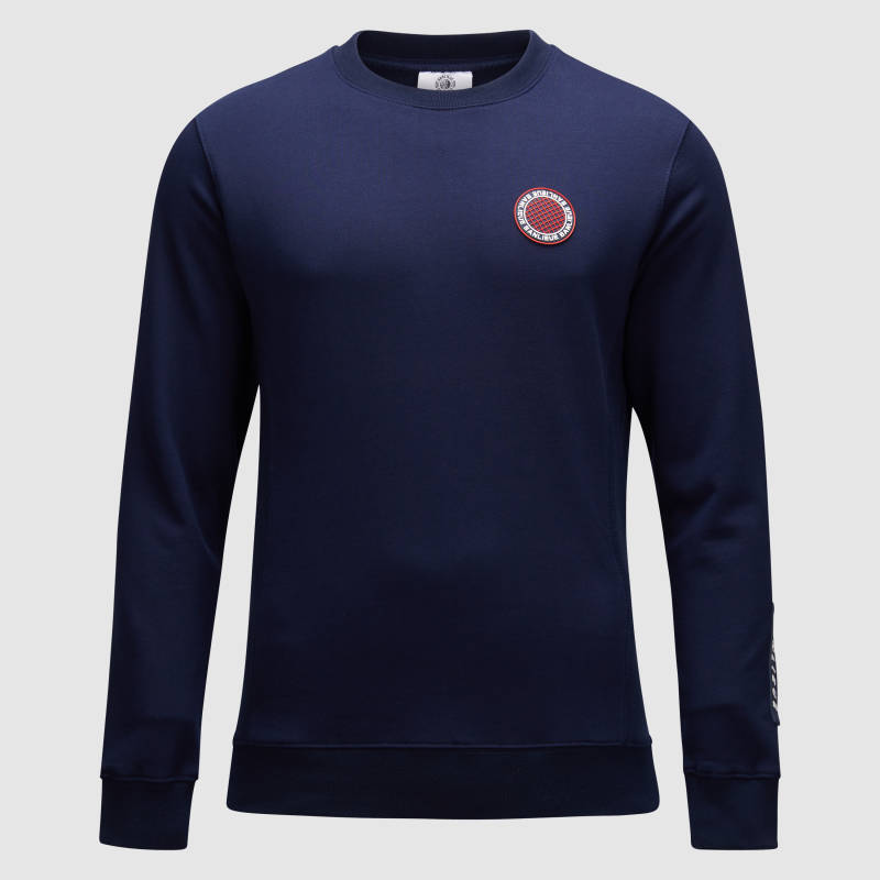 Banlieue - Sweater Patch Chest - Navy