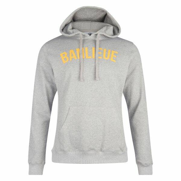 Banlieue - Arch Hoodie - Grey/ Yellow