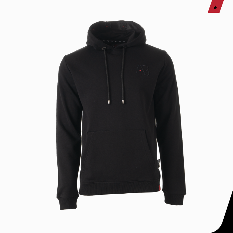 AB Lifestyle - Taped Hoodie - Black