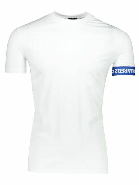 Dsquared2 - Band Tee - White/Blue