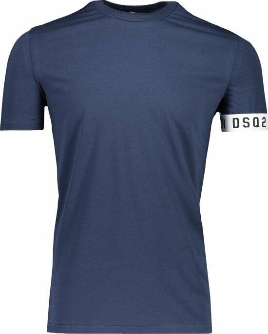 Dsquared2 - Band Tee - Blue/White