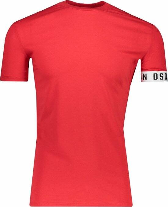 Dsquared2 - Band Tee - Red/White