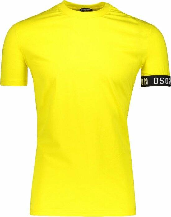 Dsquared2 - Band Tee - Yellow/Black
