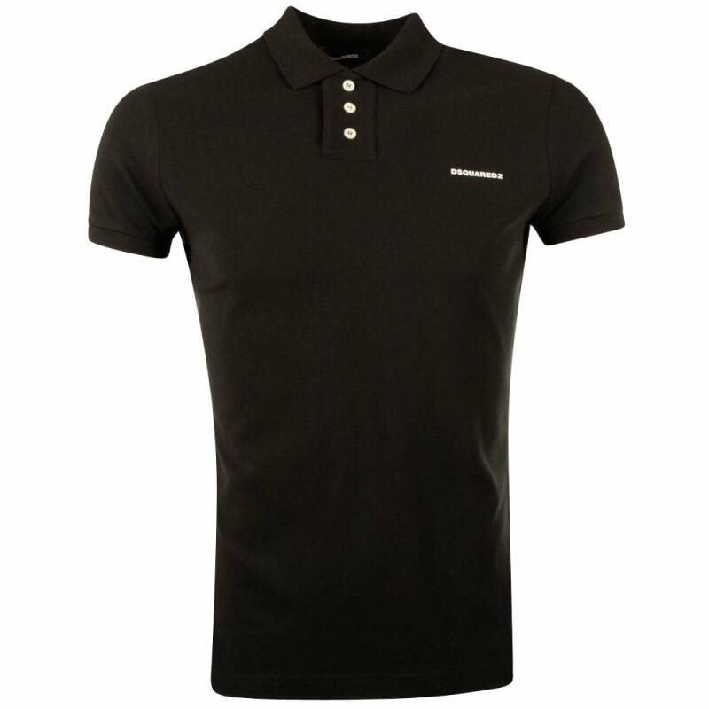 Dsquared2 - Polo Tshirt - Black/White