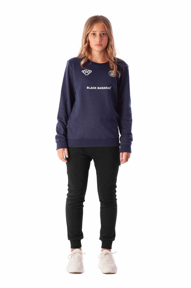 Black Bananas JR - Crewneck - Navy